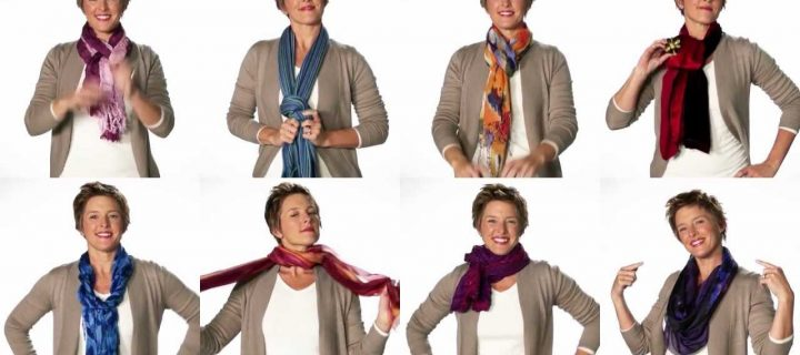 Video – Easy New Ways To Tie A Scarf